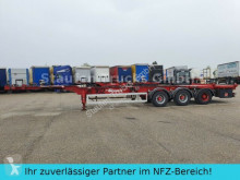 D&W Container Chas. TÜV 2x20/30/40 ft HIGH CUBE semi-trailer used chassis
