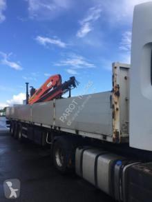 Sættevogn flatbed Lecitrailer PLATEAU GRUE PK15500