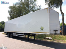 Used box semi-trailer Floor gesloten bak