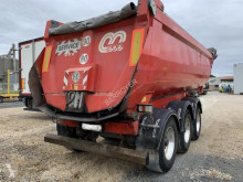 Menci Acier semi-trailer used construction dump