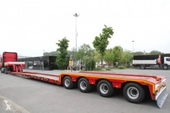 naczepa Mieczkowski TIEFBETT , lowered, extended max. 12,8m, widened max. 3,10m, extended, 4 steering axles, pilot