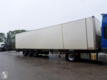 Semi remorque General Trailers TX34VW fourgon accidentée