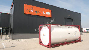 Equipamientos carrocería cisterna 2016, 20FT, 25.000L, L4BN, UN Portable, T11, steam heating, bottom discharge, 2,5Y: 07/2021