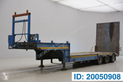 Semi remorque porte engins Gheysen et verpoort Low bed trailer