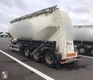 Sættevogn Feldbinder HOROZONTALE 37M3 citerne -cement brugt