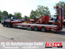 Faymonville 3-Achs-Satteltieflader - Rampen semi-trailer used flatbed