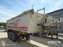 Schmitz Cargobull Tipper Alu-square sided body 24m³ semi-trailer used tipper