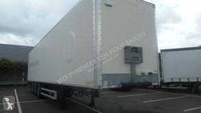 naczepa furgon furgon drewniane ściany używana