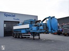 Royen Ipsam Drogestoffenzuiger / dry solids suction unit semi-trailer used tanker