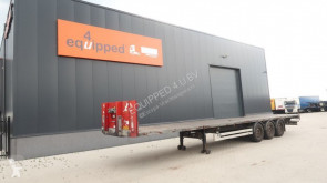 Trailer platte bak Van Hool SAF INTRADISC, galvanised, hardwooden floor, NL-trailer, APK: 01-2021, 15x available
