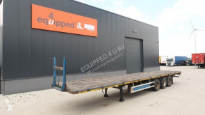 semi reboque LAG Flatbed, BPW + drum, hardwooden floor