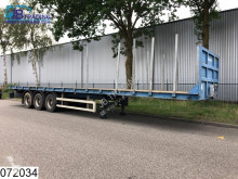 Trailer Leciñena open laadbak Disc brakes, twistlocks tweedehands platte bak