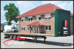 Krone SD, Mega Pritsche Plattform semi-trailer used flatbed