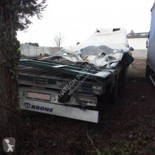 Krone Paper Liner SDP27 semi-trailer damaged tarp
