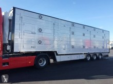 Semitrailer boskapstransportvagn Pezzaioli 3 étages - 2 compartiments