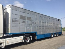 Cuppers livestock trailer semi-trailer 3 et 4 étages - 2 compartiments