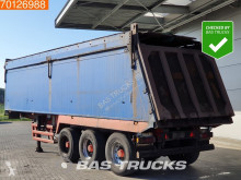 Stas SA339K 36m3 Alukipper Steering axle semi-trailer used tipper