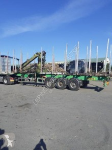 Used timber semi-trailer Titan