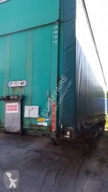 Semitrailer Frejat MEGA skjutbara ridåer (flexibla skjutbara sidoväggar) begagnad