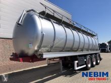 Semi reboque Dijkstra DRVO 12 27 - 32.000L - TIERFUTTERTANK cisterna usado