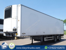 Chereau TAILLIFT steeraxle carrier semi-trailer