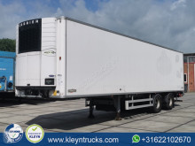 Chereau mono temperature refrigerated semi-trailer 11.1M INSIDE steeraxle 2.5t lift