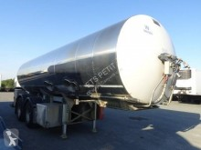 Magyar Citerne INOX Alimentaire semi-trailer used food tanker
