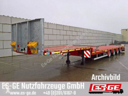 Faymonville MAX Trailer 4-Achs-Satteltieflader - Megahals semi-trailer used flatbed