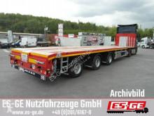 Sættevogn Faymonville 3-Achs-Megatrailer - teleskopierbar flatbed brugt