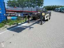 Trailer Krone 20 FT Chassis / SAF Drum brakes tweedehands containersysteem