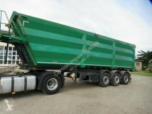 Lück 53 cbm Stahlmulde, Kornschieber, MB Scheibe,Lift semi-trailer