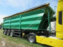 Lück 53 cbm Stahlmulde, Lift, MB Scheibe,Kornschieber semi-trailer