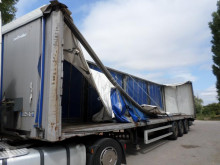 Sættevogn Lecitrailer Non spécifié glidende gardiner skadet