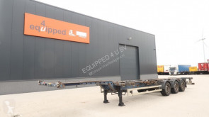 Sættevogn Krone 45FT-HC, discbrakes, extendable at the rear, NL-chassis, APK: 26-02-2021 containervogn brugt