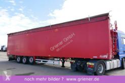semi remorque Stas WALKINGFLOOR 90 m³ 3-achs ALURAHMEN / 7700 kg