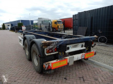 Semitrailer containertransport Krone 20 FT Chassis / SAF Drum