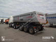 полуремарке Schmitz Cargobull Tipper Steel half pipe body 25m³