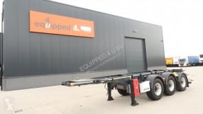 Yarı römork Van Hool 20FT/3-axles, empty weigth: 3.140kg, BPW, ADR (EXII, EXII, FL, OX, AT), ALCOA, NL-Chassis. APK/ADR: 10/2020