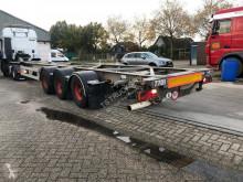 semi remorque Van Hool 3B0070 40.ft container chassis - ADR AT, FL - Belgium trailers - Galvanised