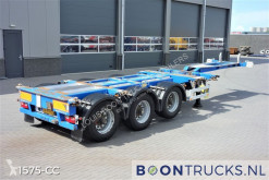 semi remorque Pacton T3-010 | 20-30-40-45ft HC * MULTI CHASSIS * ADR
