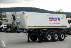 Semirimorchio Schmitz Cargobull TIPPER 26 M3 / 5600 KG / LIFTED AXLE / LIKE NEW centinato alla francese usato