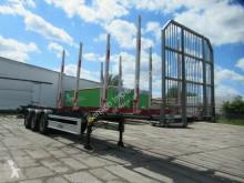 Fliegl Holzauflieger, Unfall, fahrbereit semi-trailer