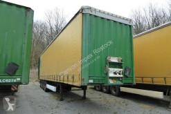 Semitrailer Krone Gardine Wagen 5611, Edscha, Km Zählwerk flexibla skjutbara sidoväggar begagnad