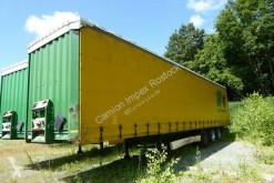 Yarı römork tenteli platform Krone Gradine Wagen 6045, Gardine, Edscha, Portaltüren