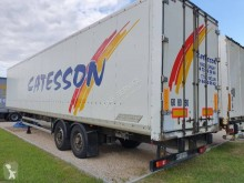 Used box semi-trailer Samro