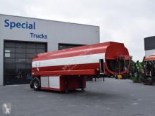 EKW Tankoplegger 24000L Benzine/Diesel (5 compartimenten) semi-trailer