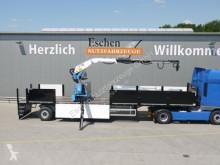 Semitrailer platta nc Wilken Kranauflieger Rollkran Kennis 16-R/84-4