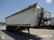 Schmitz Cargobull Tipper Alu-square sided body 94m³ semi-trailer used tipper
