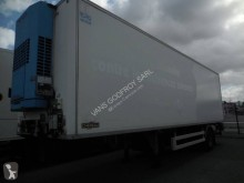 Chereau 1 ESSIEU semi-trailer used multi temperature refrigerated