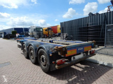 Semi remorque porte containers Renders Euro 800 / 2x Extendable / Lift axle / All containers